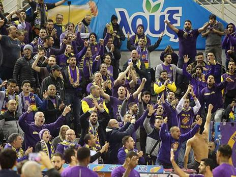 200 אוהדי חולון הגיעו ליוון (FIBA)