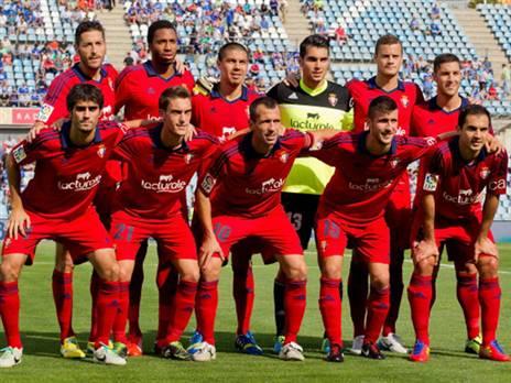 שחקני אוסאסונה בעונת 2013/14 (getty)