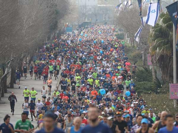 40,000 איש במרתון אחד (באדיבות דוברות ירושלים)