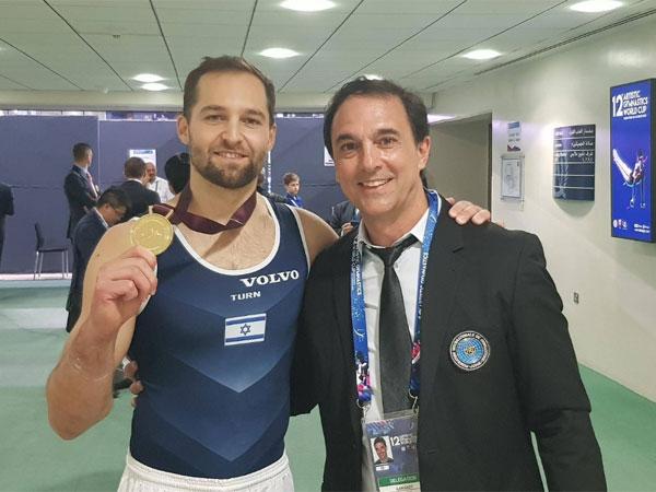 כבוד כחול לבן. שטילוב (עמוד הפייסבוק של הוועד האולימפי בישראל)