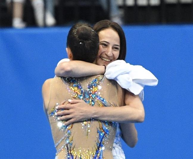 אשרם וזוסמן (עמית שיסל, מינסק, באדיבות הוועד האולימפי בישראל)
