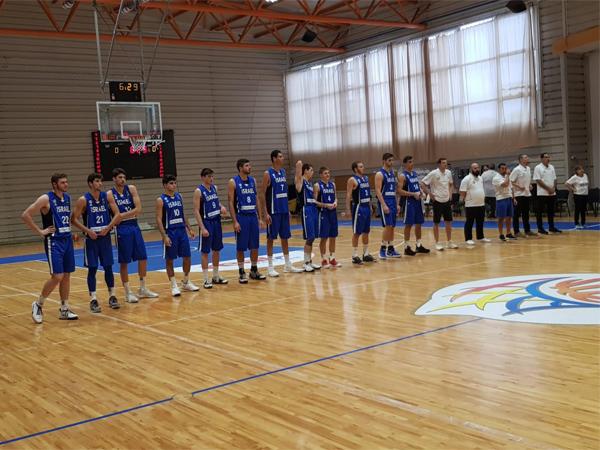 נבחרת הנוער. תפגוש את צ'כיה בשלישי (איגוד הכדורסל)