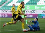 צמד להולאנד, 0:2 לדורטמונד מול וולפסבורג