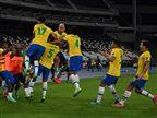 בדקה ה-100: 1:2 משוגע לברזיל על קולומביה