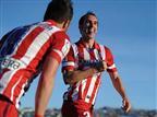 אתלטיקו ברחה עם 0:2 בחטאפה, קוסטה נפצע