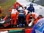תאונה קשה ביפן: חשש לחייו של ביאנקי