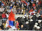 בשל פיצוץ המשחק: 3 נקודות הופחתו לסרביה