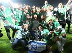 שחקני חיפה חוגגים את הזכיה בגביע