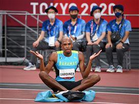 גארדינר קטף את הזהב ב-400 מטרים
