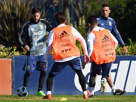 ישראל בכוננות: מסי כיכב באימון ארגנטינה