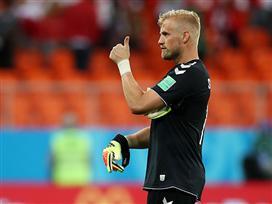 הופעת ענק לשמייכל, דנמרק גברה 0:1 על פרו