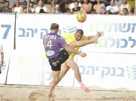 בקצב הסמבה: 1:6 לברזיל על ישראל בחופים