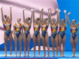 מקום 12 ושיא נוסף לנבחרת השחייה האמנותית