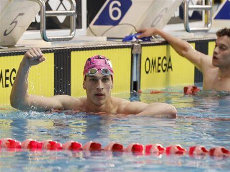 סולובייצ'יק מככב בבריכה (איגוד השחייה)