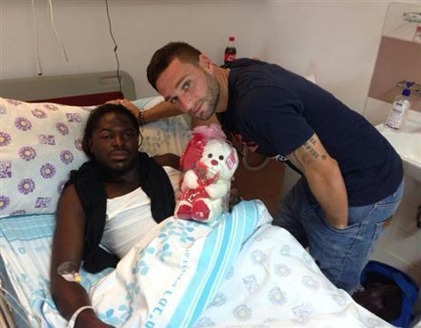 אבידור עם ימפולסקי בבית החולים