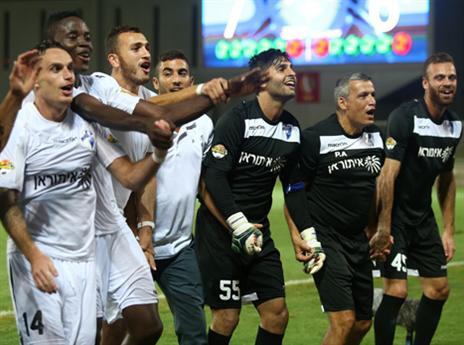 ניצחון ענק (צילום: אלן שיבר)