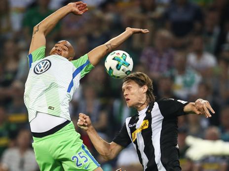 התרסקות: וולפסבורג הובסה 3:0 אצל גלדבאך