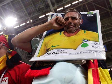 האוהדים בברזיל מאוכזבים מניימאר (getty)