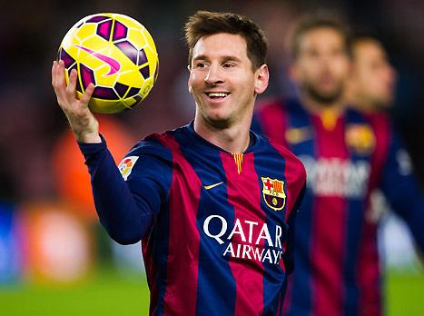 מסי, הכדור בידיים שלו (gettyimages)
