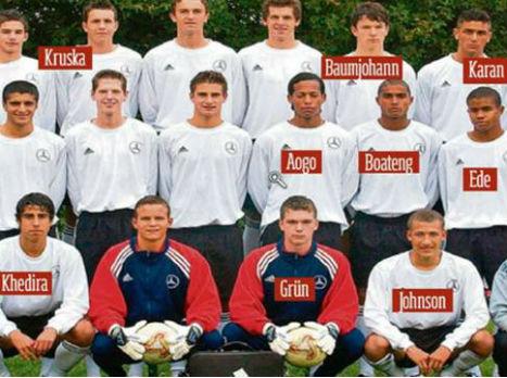 בוראק וחבריו לנבחרת הגרמנית