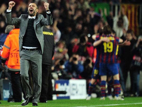 גווארדיולה. יצליח לשחזר את השושלת שייצר בברצלונה? (Getty Images)