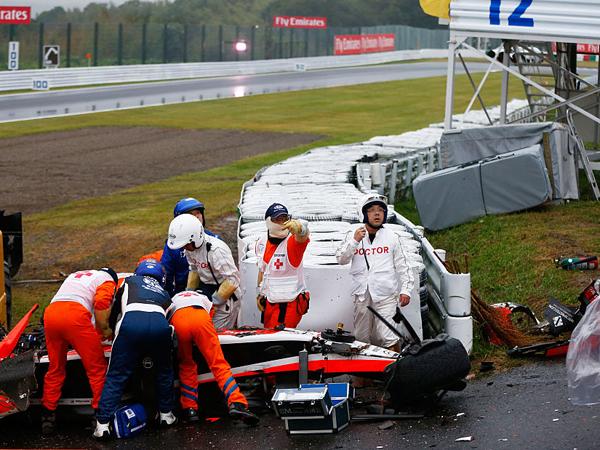 התאונה של ביאנקי ב-2014 ביפן