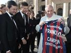 האפיפיור אירח את סן לורנסו: איזה אושר