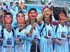 טירוף: 100,000 ארגנטינים בבלו הוריזונטה
