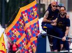 הרגל: ברצלונה חגגה במצעד האליפות