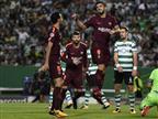 עזרה עצמית: ברצלונה גירדה ניצחון בליסבון