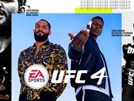 אדסניה ומסבידאל מככבים על עטיפת UFC 4