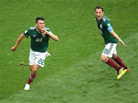 השדר המקסיקני איבד עשתונות בשער הניצחון