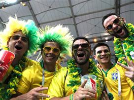 אנחת רווחה: בברזיל חגגו את ה-0:2 הדרמטי