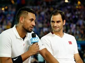 מעורר השראה: גדולי הטניסאים באירוע התרמה לאוסטרליה