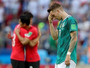 האלופה בחוץ: גרמניה נוצחה והודחה מהמונדיאל