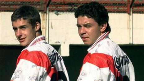 איימאר הצעיר עם מרסלו גז'ארדו, היום המאמן שלו