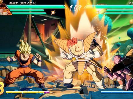 קרבות של שלושה כנגד שלושה שחקנים.