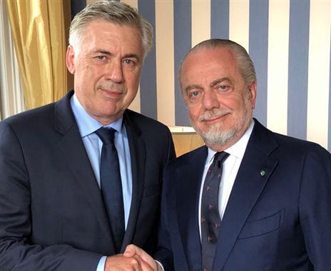 חוזר לאיטליה: אנצ'לוטי מונה למאמן נאפולי