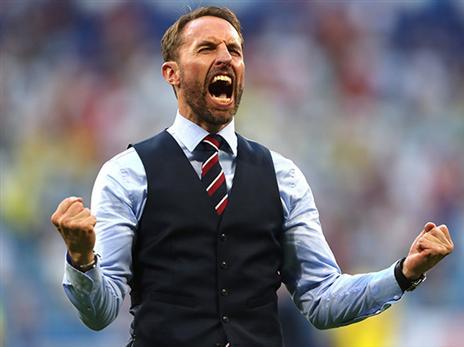 סאות'גייט, עם אנטיתזה לכדורגל האנגלי של העבר, מחפה על החולשות (getty)