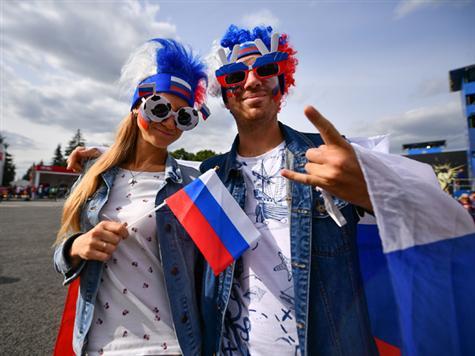 <STRONG><FONT color=#000099>צפו בחגיגות של אוהדי רוסיה מהשערים. </FONT></STRONG>