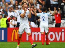 אנגליה קרובה לשמינית הגמר (gettyimages)