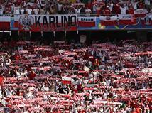 הקהל הפולני מרגיש את הניצחון מתקרב (gettyimages)