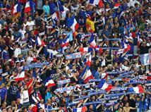 אוהדי צרפת בהמנון (Getty)