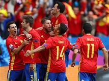 ספרד חגגה ניצחון דרמטי (gettyimages)