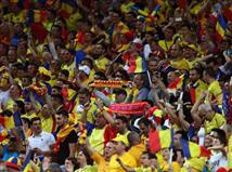 גם האוהדים של רומניה חולמים על שמינית הגמר (getty)