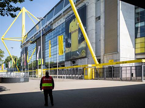 האוטובוס של דורטמונד הגיע לאצטדיון: