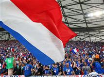 האוהדים הצרפתים כבר מוכנים (Getty)