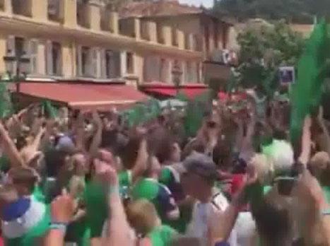 <STRONG>למקרה שלא ידעתם, אוהדי צפון אירלנד אחראיים לשיר האוהדים שכבש את צרפת ביורו הזה. מדובר בשיר אותו הם מקדישים לקשר ווייל גרייג.<BR>קבלו אותם בביצוע לשיר הממכר</STRONG>