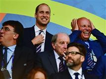 גם הנסיך וויליאם הגיע לצפות במשחק (getty)