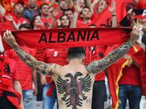 גם לאלבניה יש ייצוג ביציע (Getty)